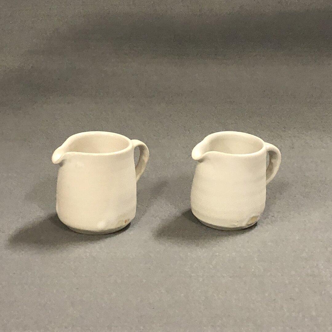 【陶器市♪期間限定】ミルクピッチャー・ホワイトマット