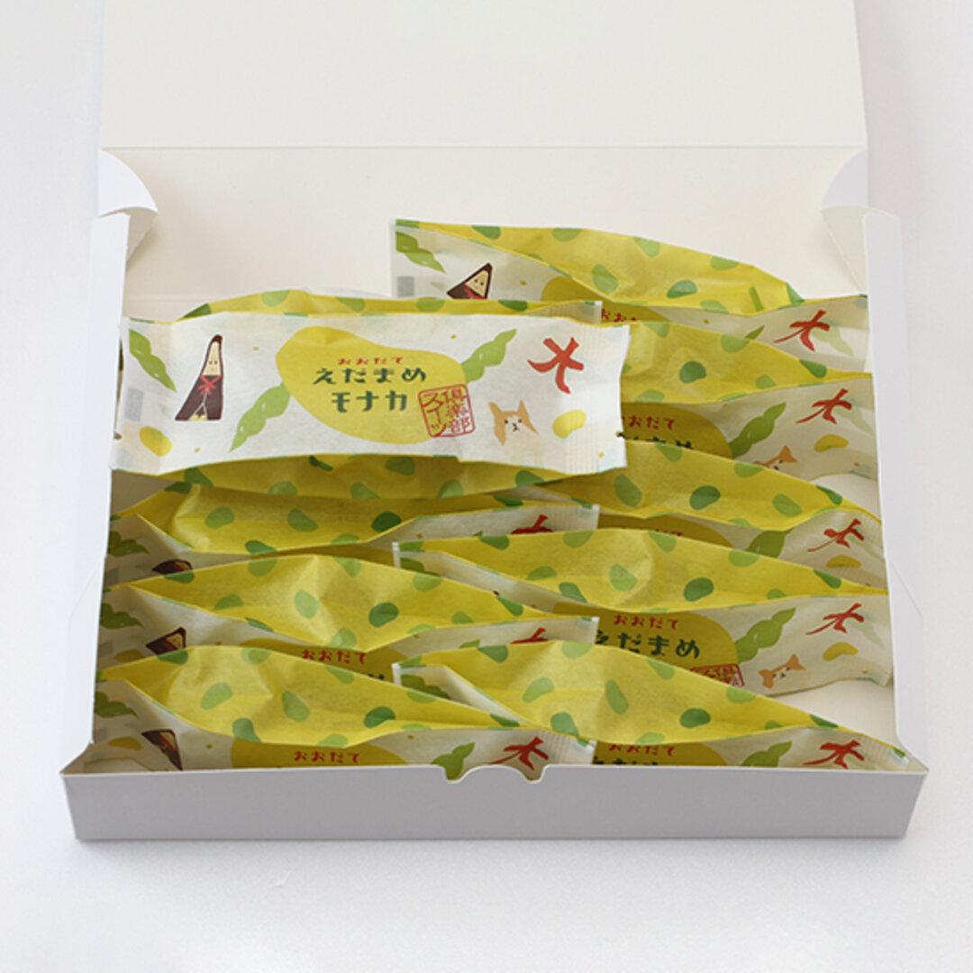 詰め合わせセット(おおだてえだまめモナカ10個入り)【羽二重餅や生どら焼きの冷凍商品との同梱発送ができません。】