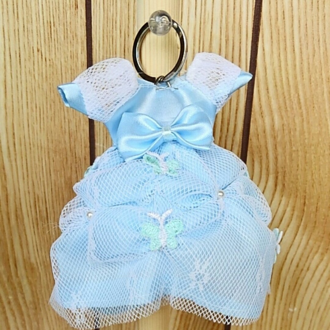 ドレス型キーケース bluebutterfly