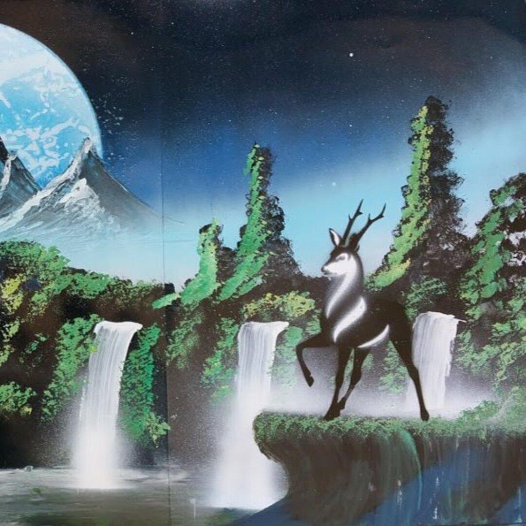 Forest deer.森の鹿