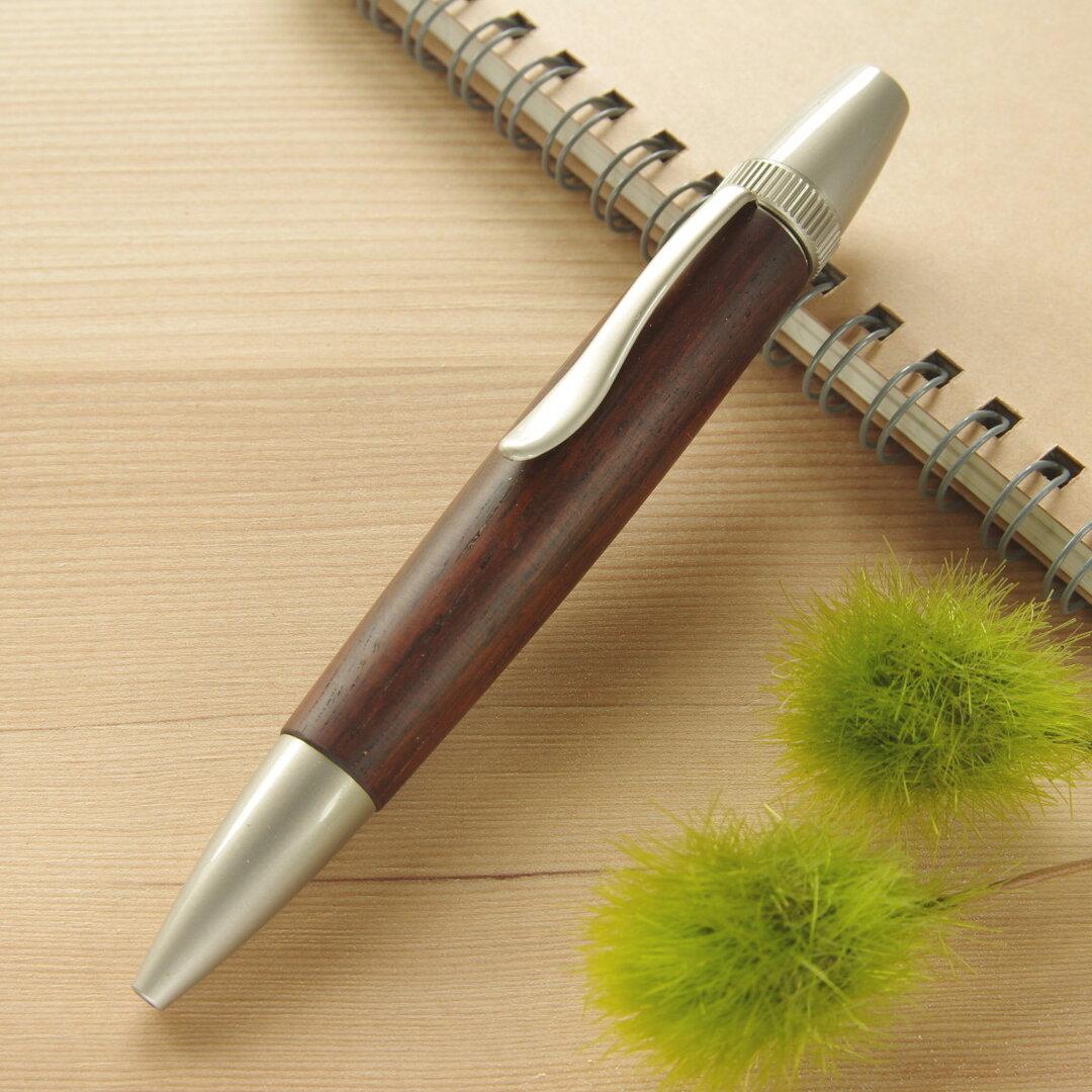 木製ボールペン シタン