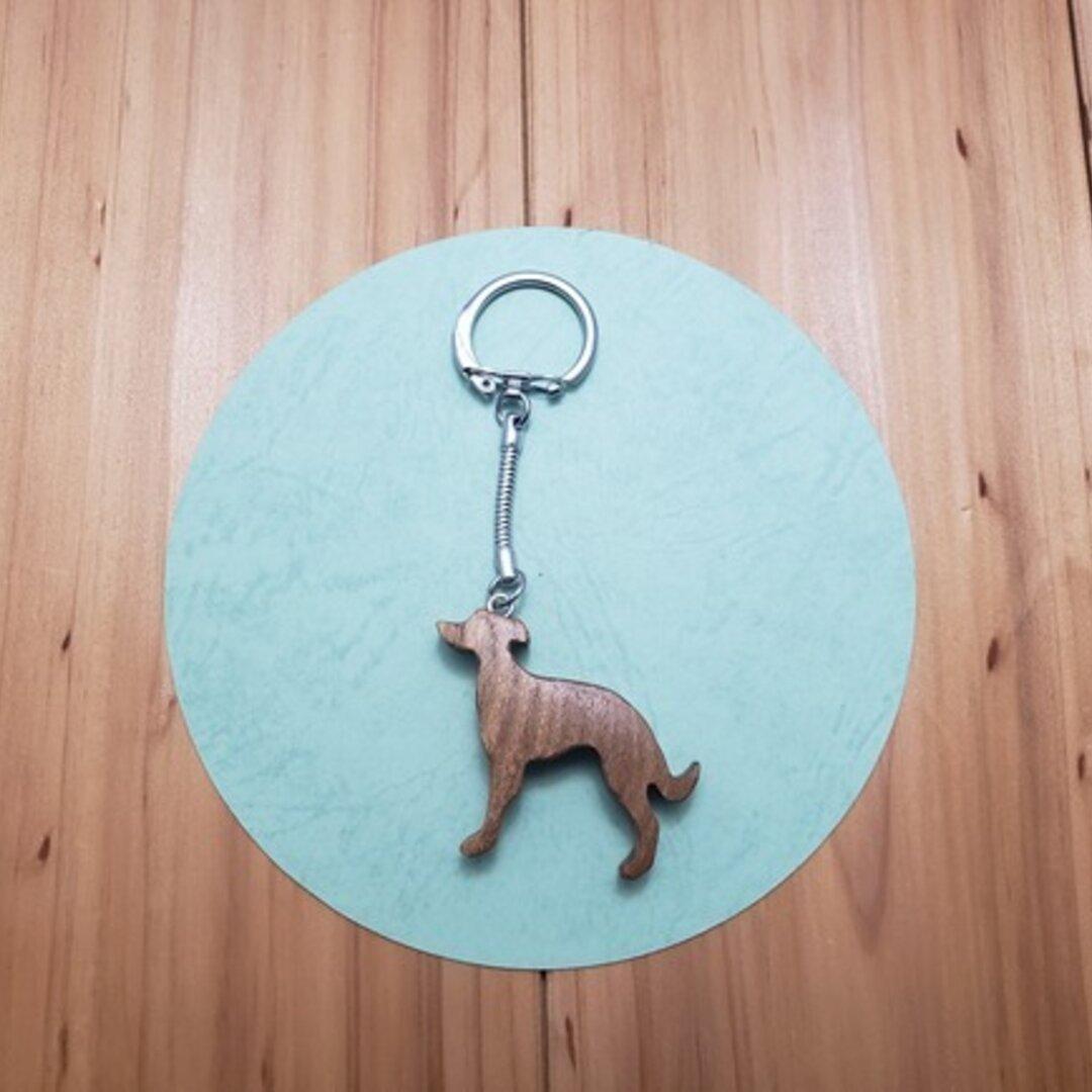 イタリアン・グレーハウンド(犬の原産国:イタリア) キーホルダー