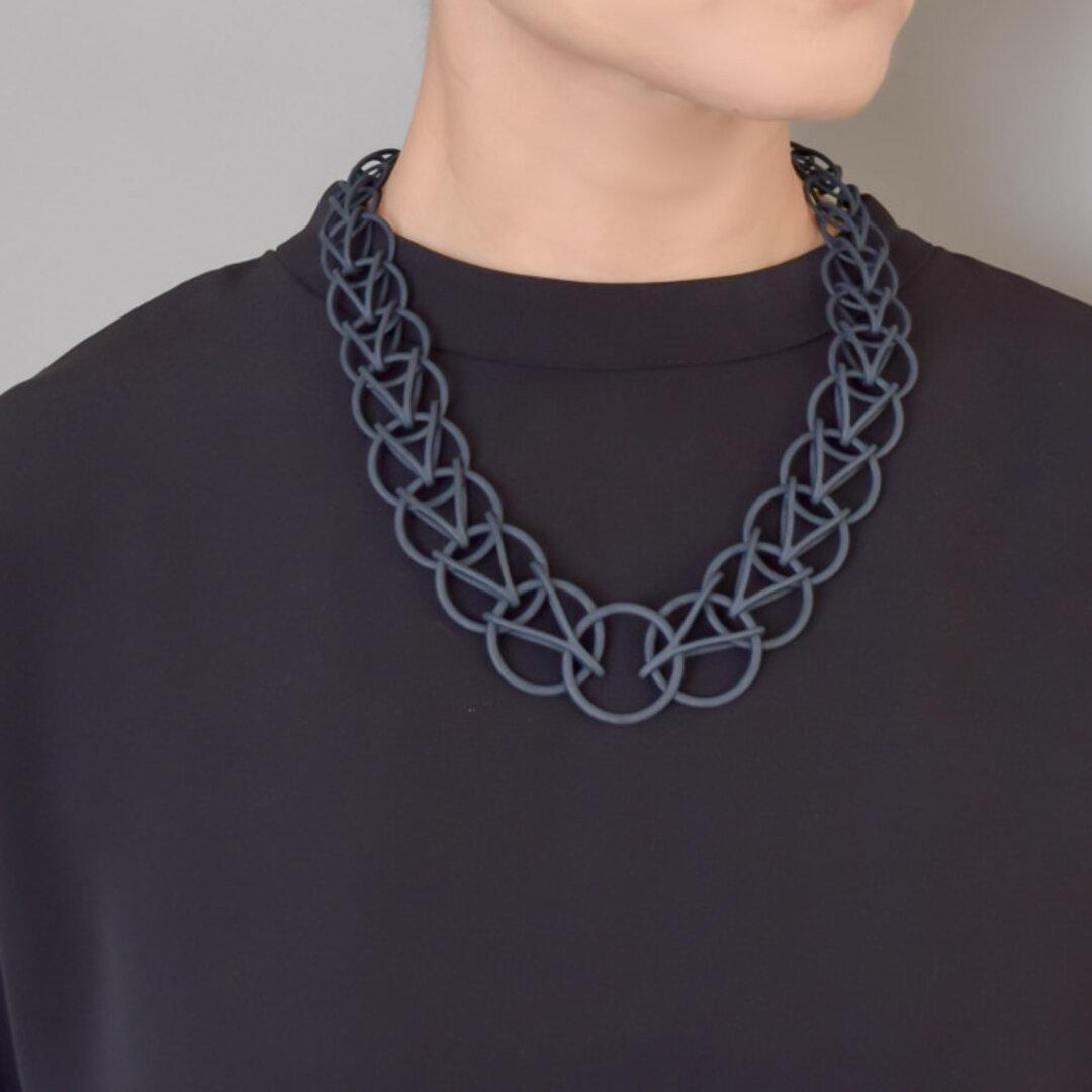 ペルシャン 黒 ネックレス
