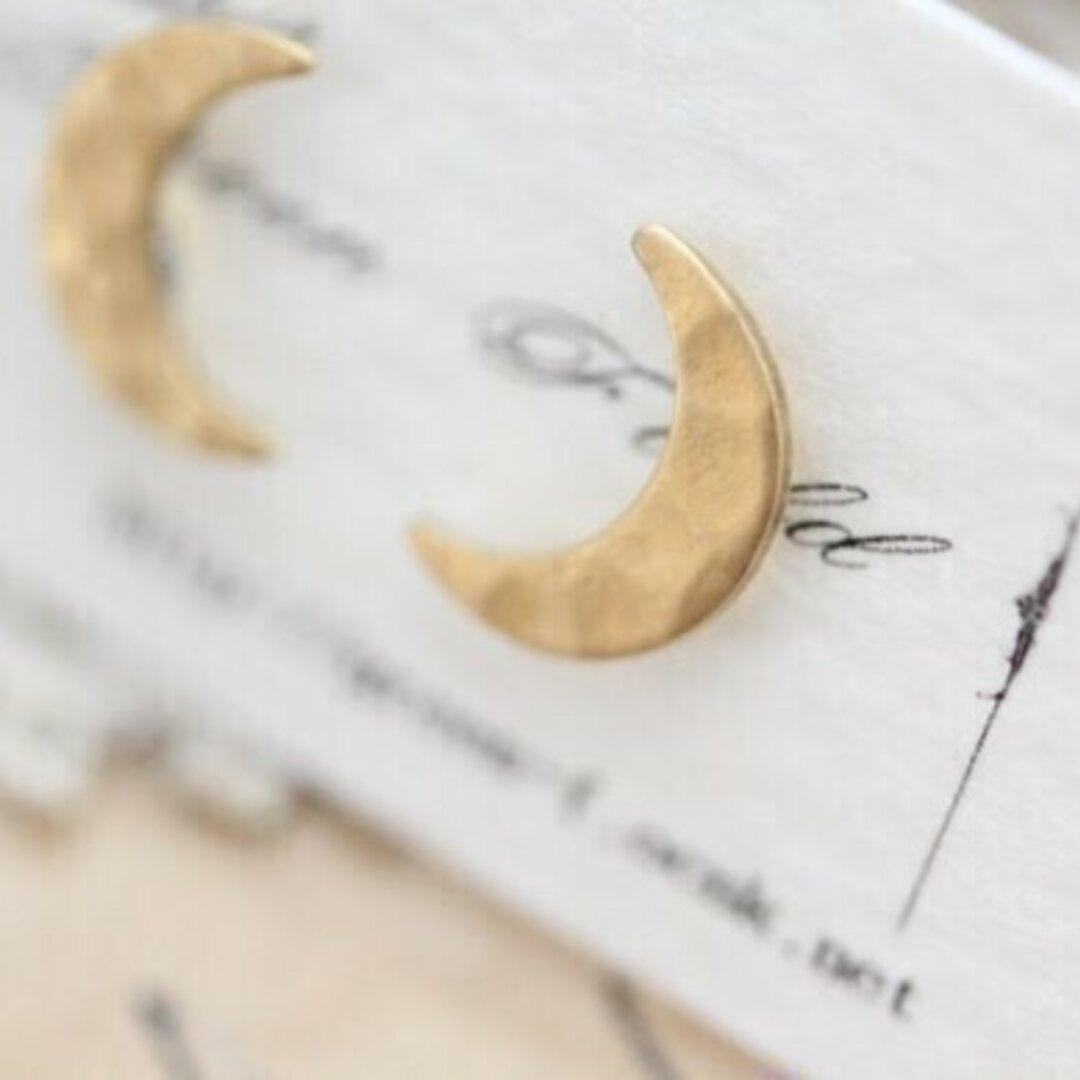 月のピアス( イヤリング)
