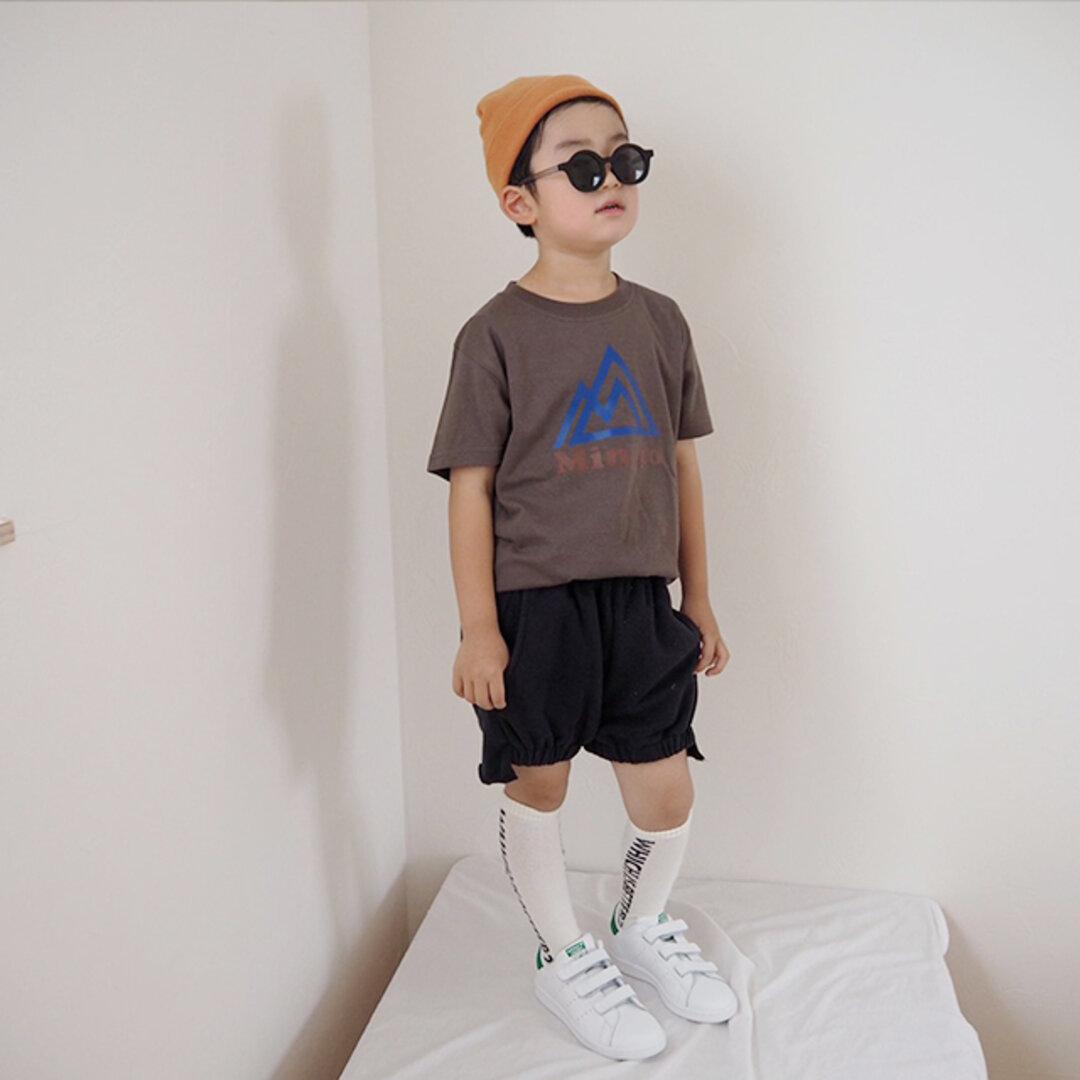 (size90~130)名前入Tシャツ【My outdoor brand】
