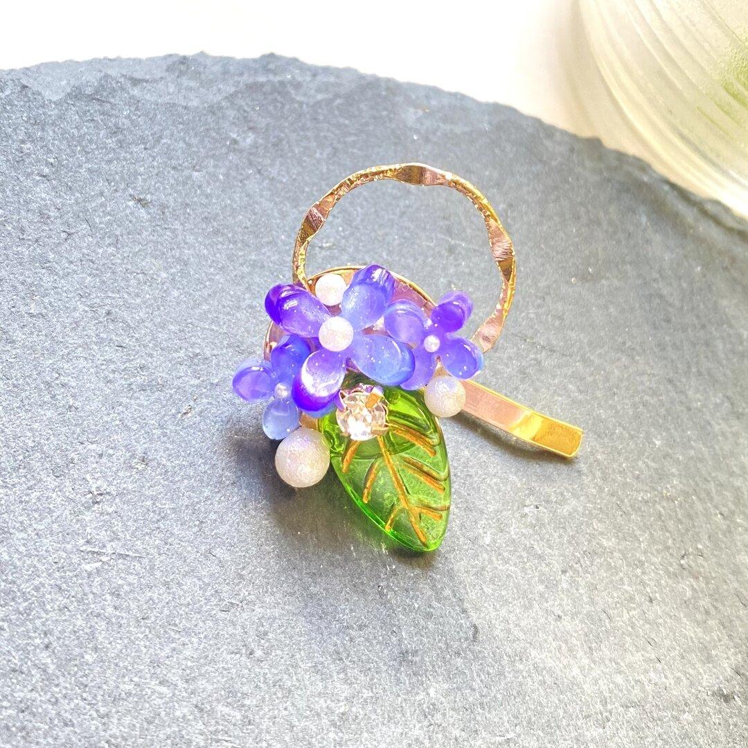 紫陽花ポニーフック