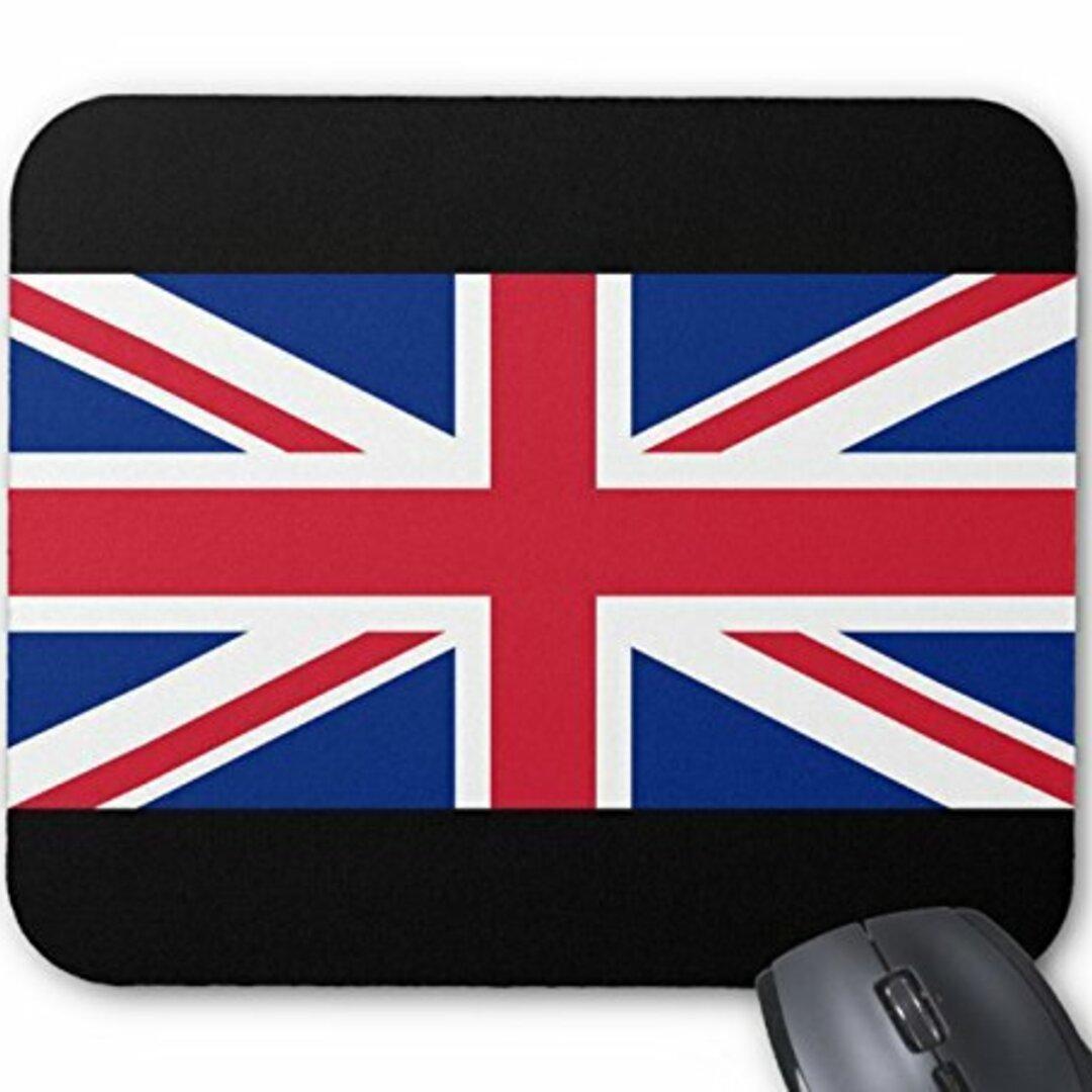 イギリス国旗、ユニオンジャックのマウスパッド :フォトパッド( 世界の国旗、軍旗シリーズ ) (D)