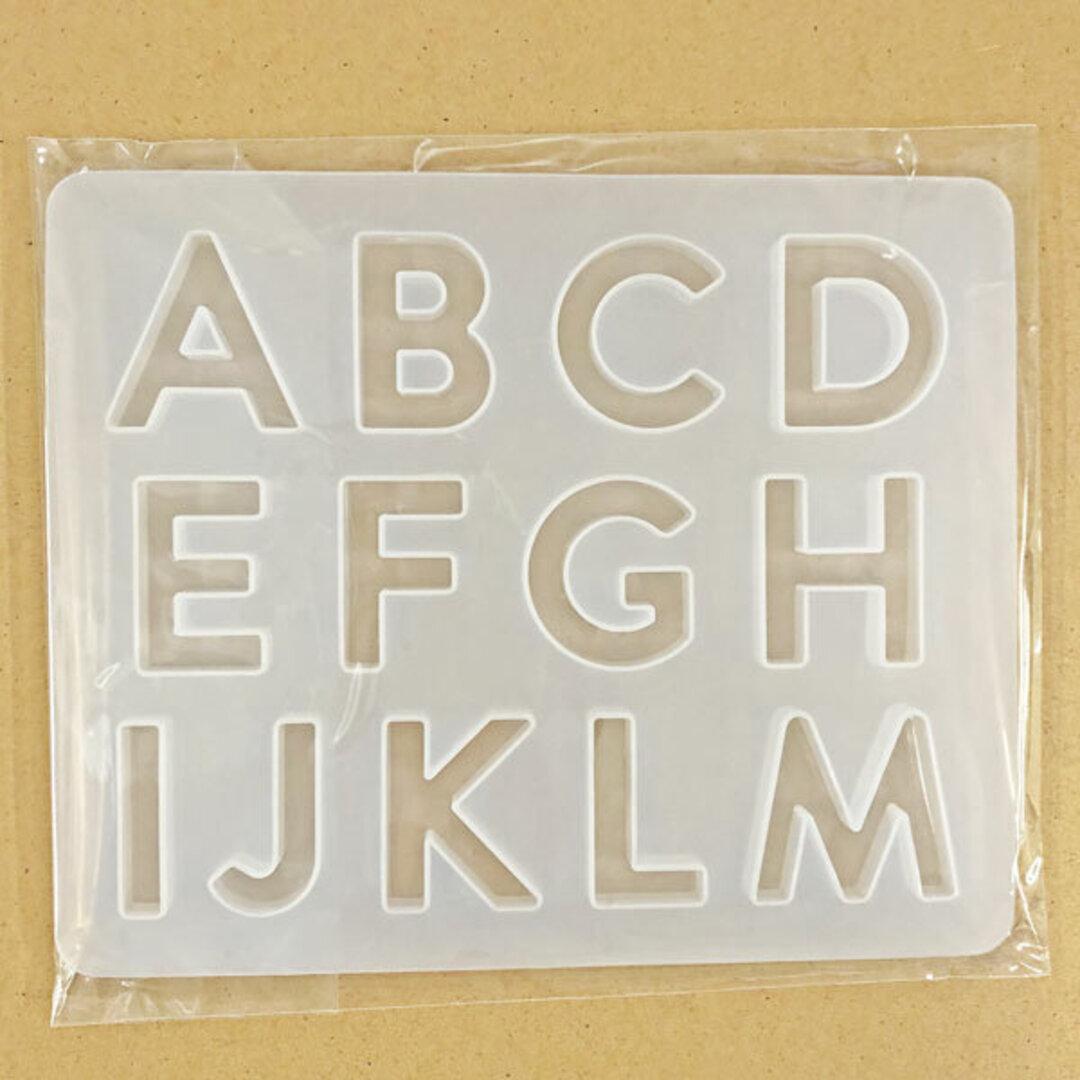 RSSC-163 シリコンモールド アルファベット A~M
