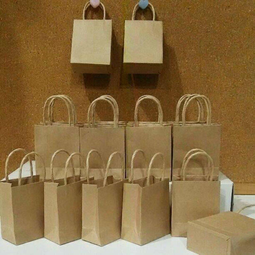 ミニ紙袋☆クラフト【B】