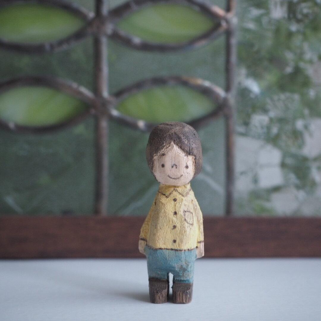 boy 木彫り #150