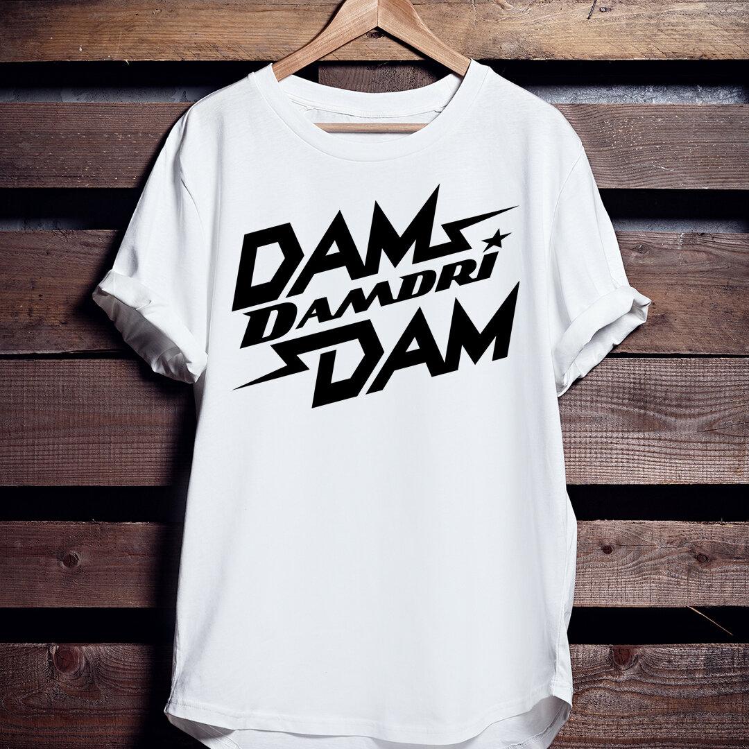 バスケTシャツ「DAM DAM DAMDRI」