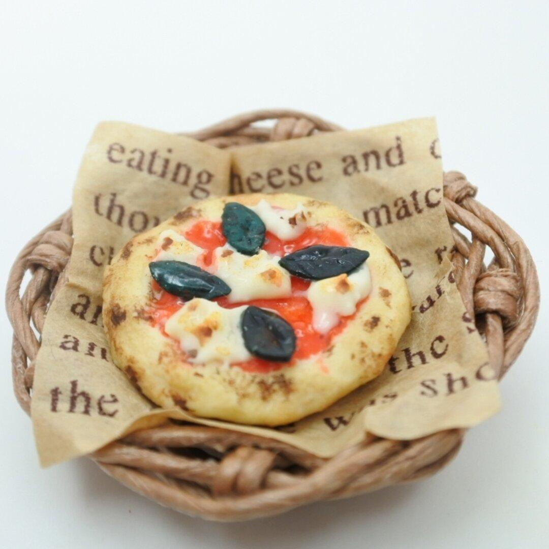 マルゲリータ  籠  ミニチュアピザ ミニチュアフード