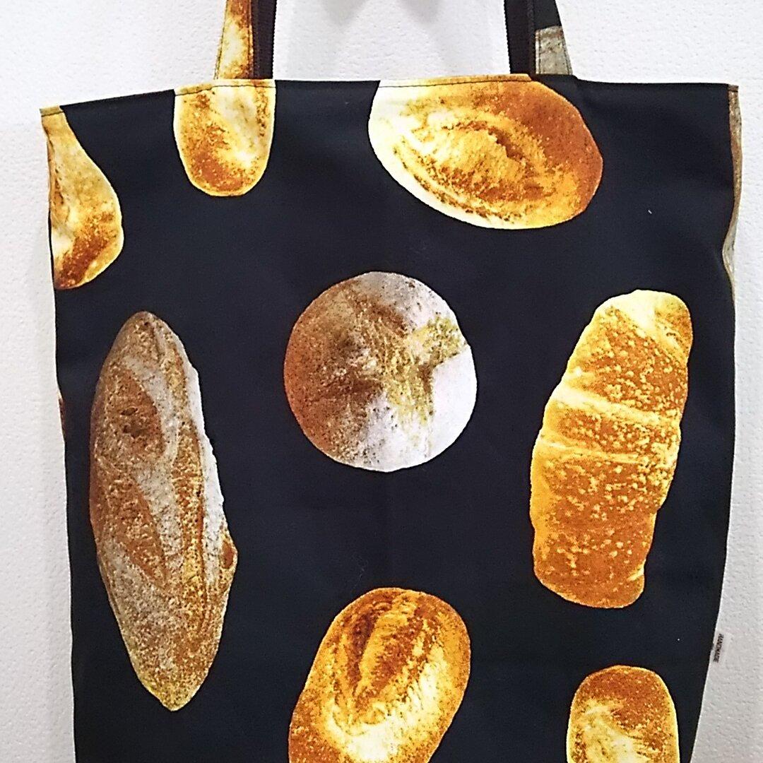 縦長トートバッグ パン柄1