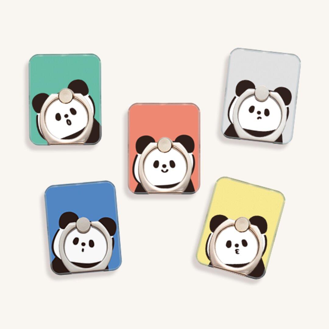 こんにちはパンダ  スマホリング