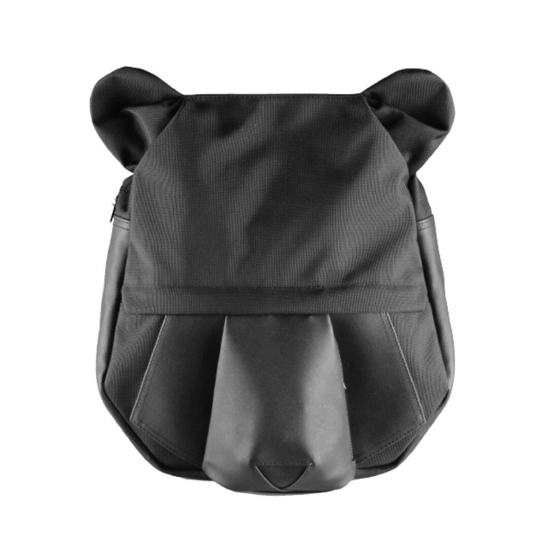 【ORIBAGU】ブラックベア_バックパック【折り紙バッグ】