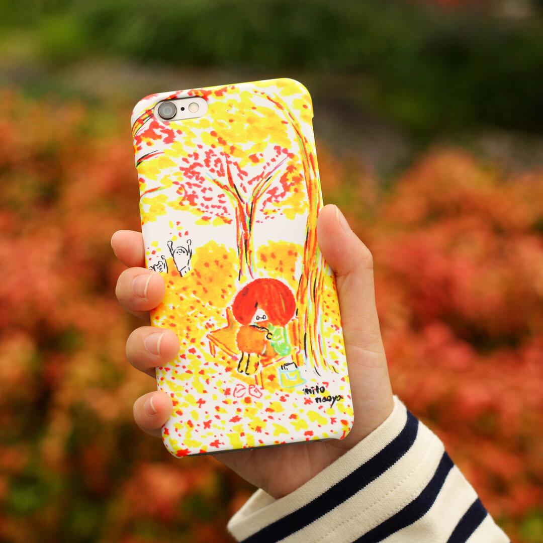 iPhoneケース「秋の過ごし方」
