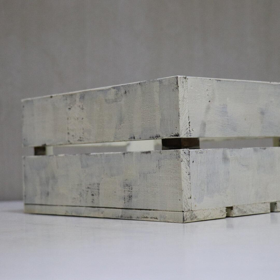 アンティーク風ガーデニング箱 (植木鉢とか入れる用の箱)