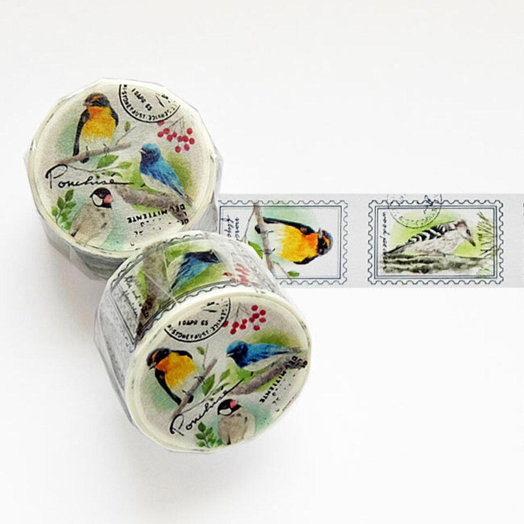 鳥 の マスキングテープ