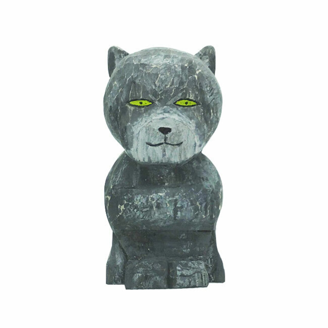 地蔵アニマル 猫 ( グレー)