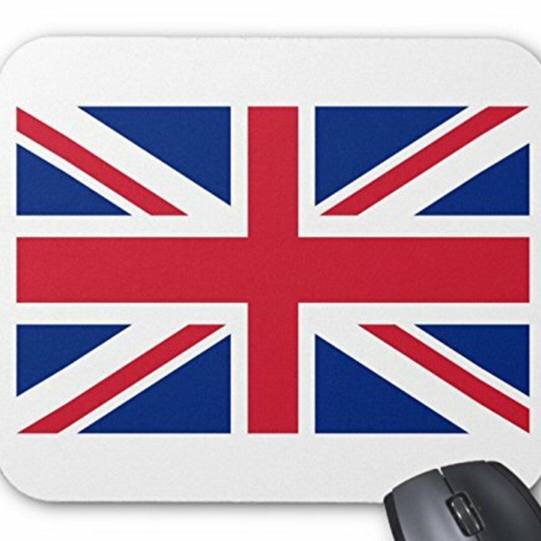 イギリス国旗、ユニオンジャックのマウスパッド :フォトパッド( 世界の国旗、軍旗シリーズ ) (A)