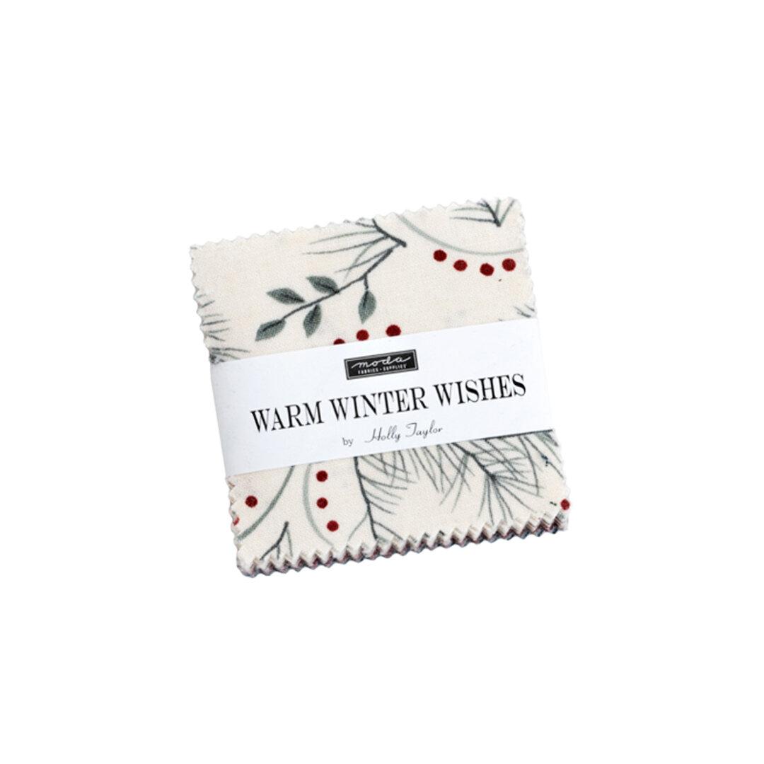 USAコットン moda mini charm 42枚セット WARM WINTER WISHES 生地 布