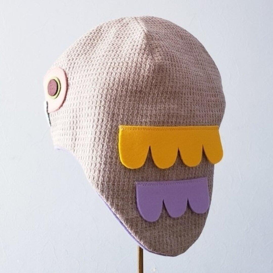 ふくろう帽子▲ 54size(目安5~8歳)
