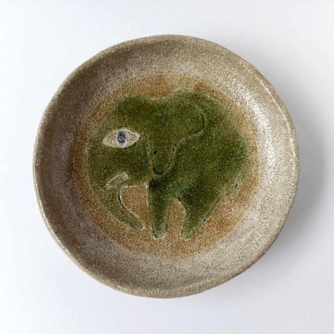 象の小皿_2