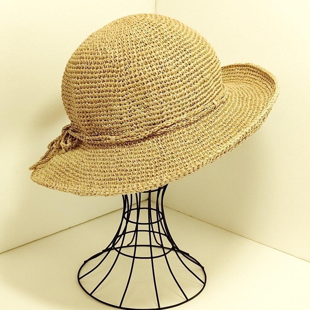 ブラウンの夏帽子