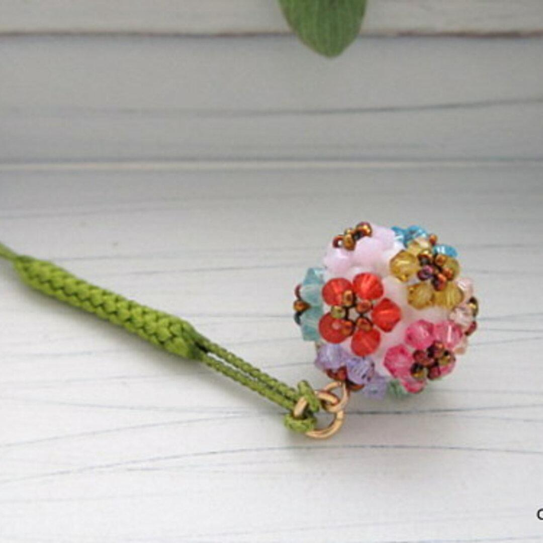 花手毬の根付け・帯飾り12color+α(B)