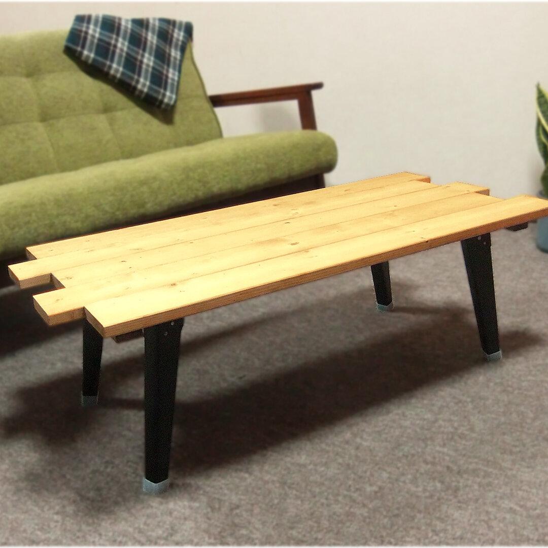 折りたたみローテーブル(Ver.2) お手入れワックス付き♪