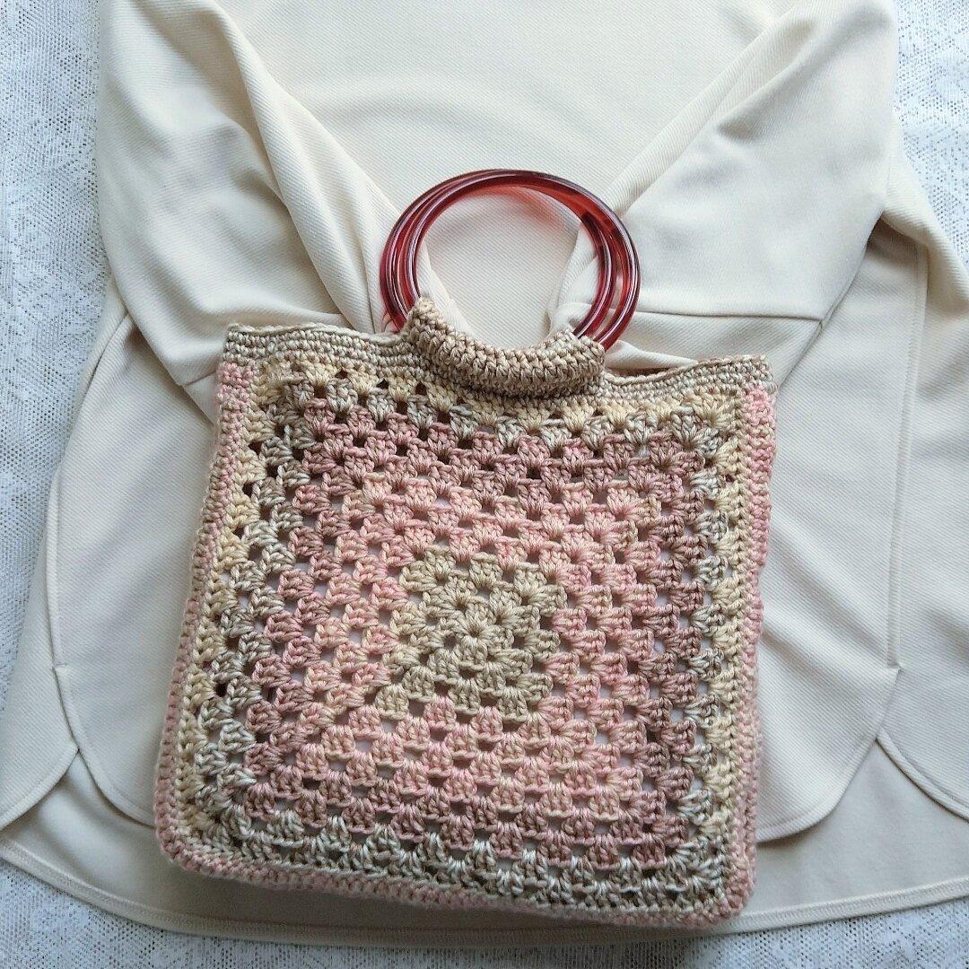 ☆送料無料☆手編みバッグ