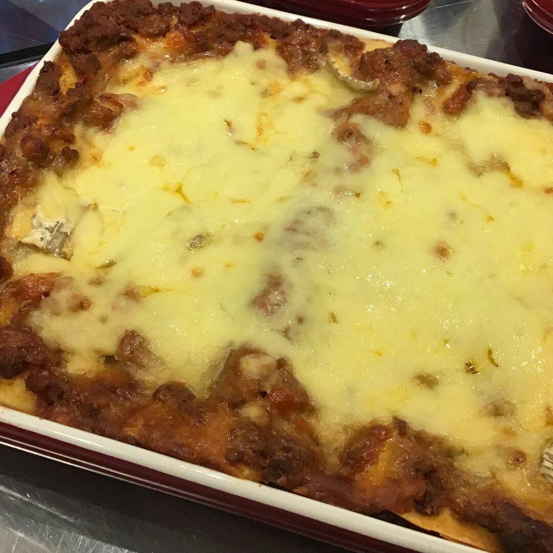 2種類のチーズがとろ~りとろける、絶品ラザニア<冷凍品>