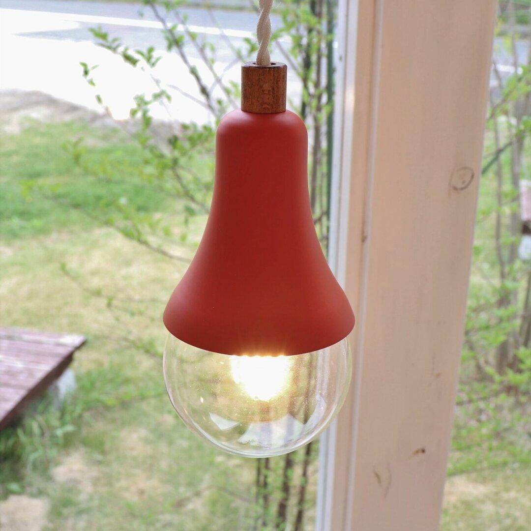 LED ペンダントライト   Una Red 【送料無料】