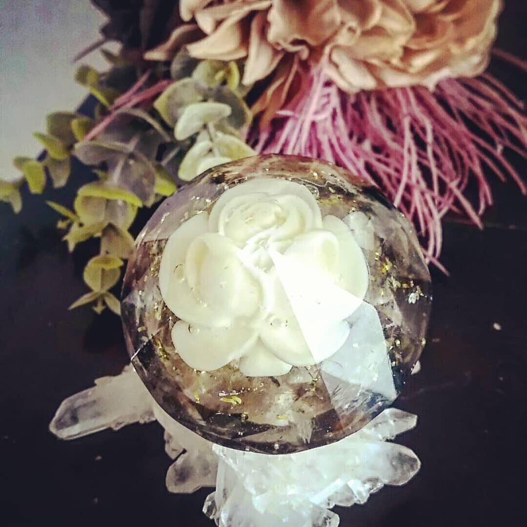 ¢オルゴナイト¢…white rose…