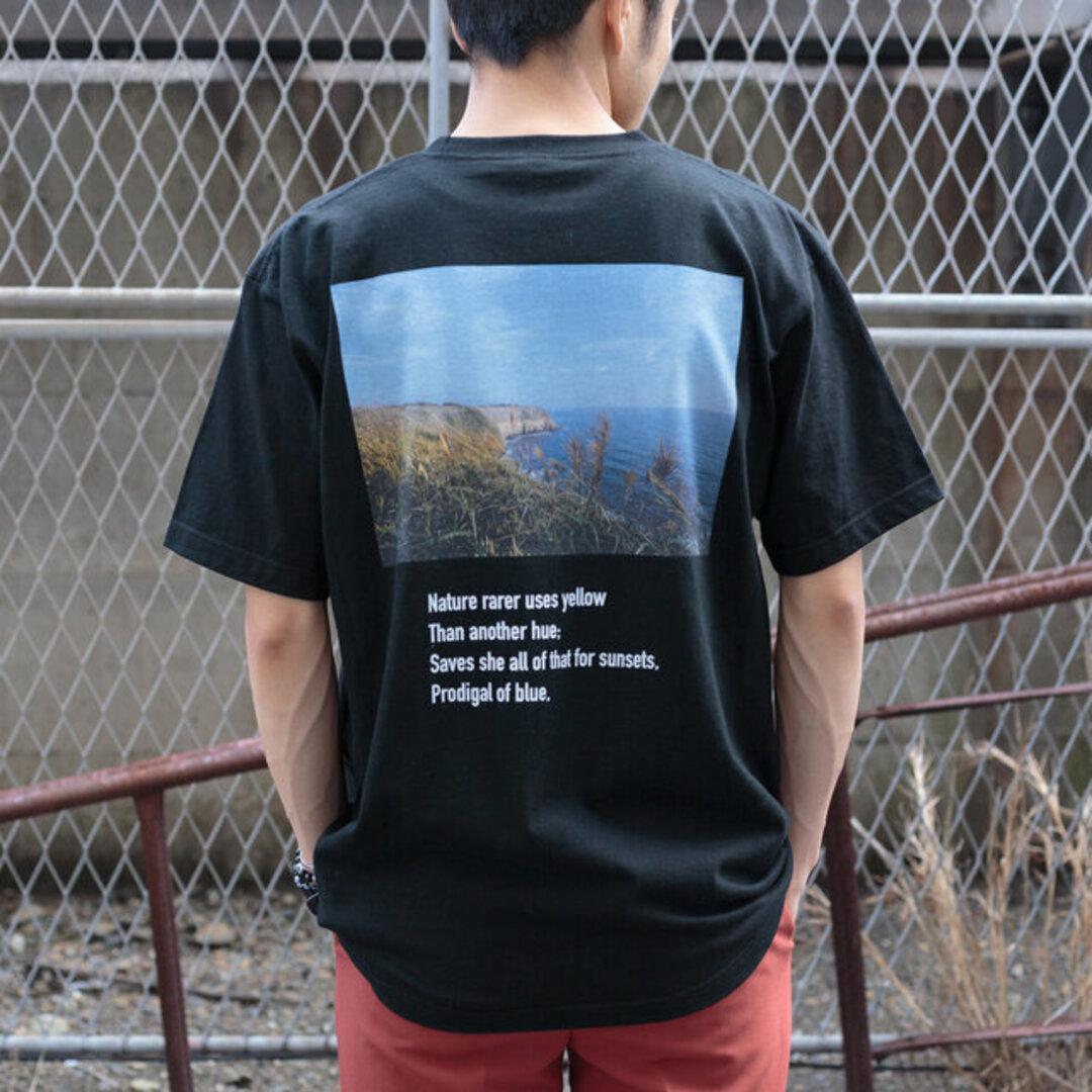 送料無料【OPTIMUS】メンズバックプリントTシャツ_001 ユニセックス