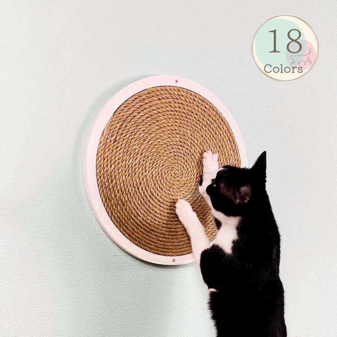 [送料無料] ❃まんまるい猫の爪とぎ❃   # 猫・爪研ぎ・麻縄・キャットタワー・キャットウォーク・ベッド・ベット#