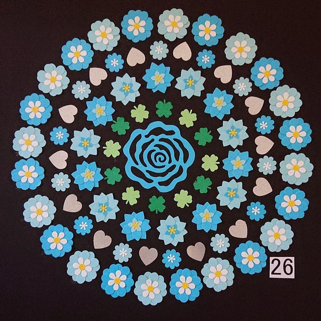 クラフトパンチ お花(26)