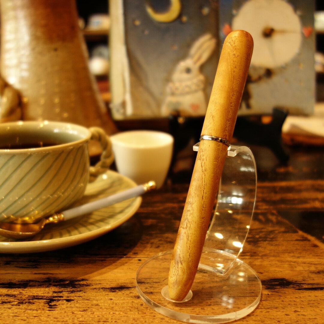 木軸万年筆 ◆ 綾桑 ◆ 標準型 ◆ 太軸 ◆ Mulberry