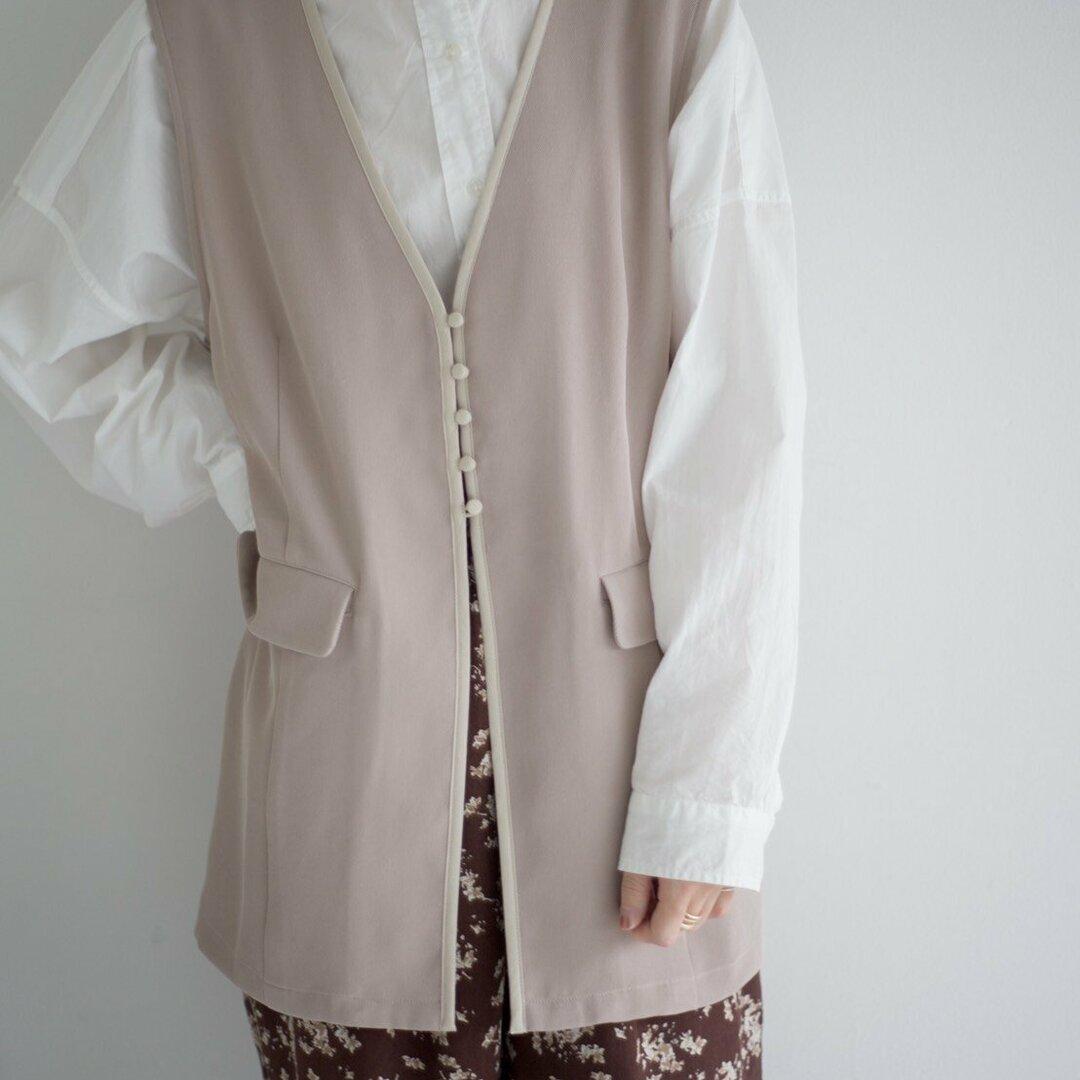piping medium vest