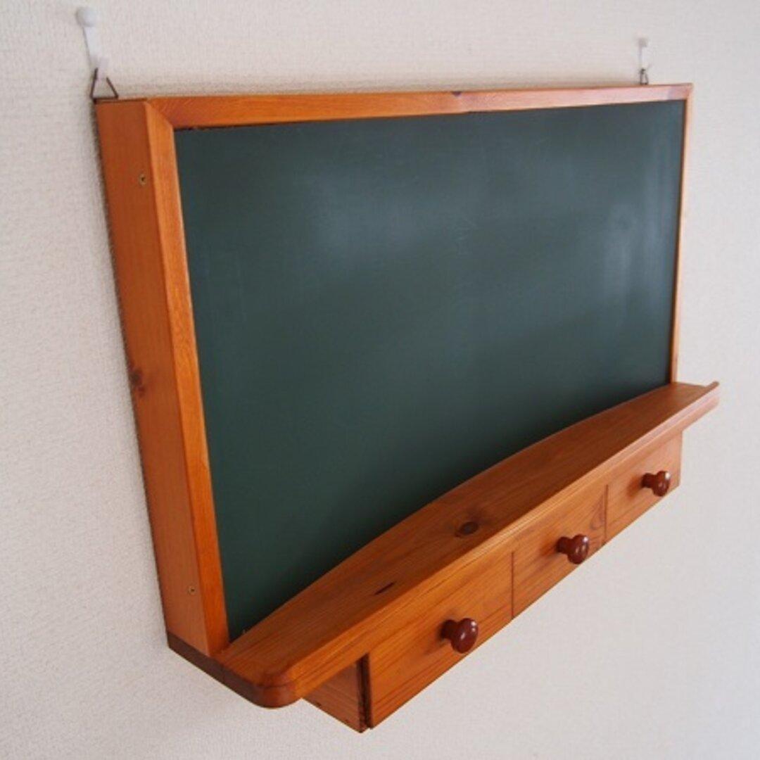 レトロな黒板*メッセージボード