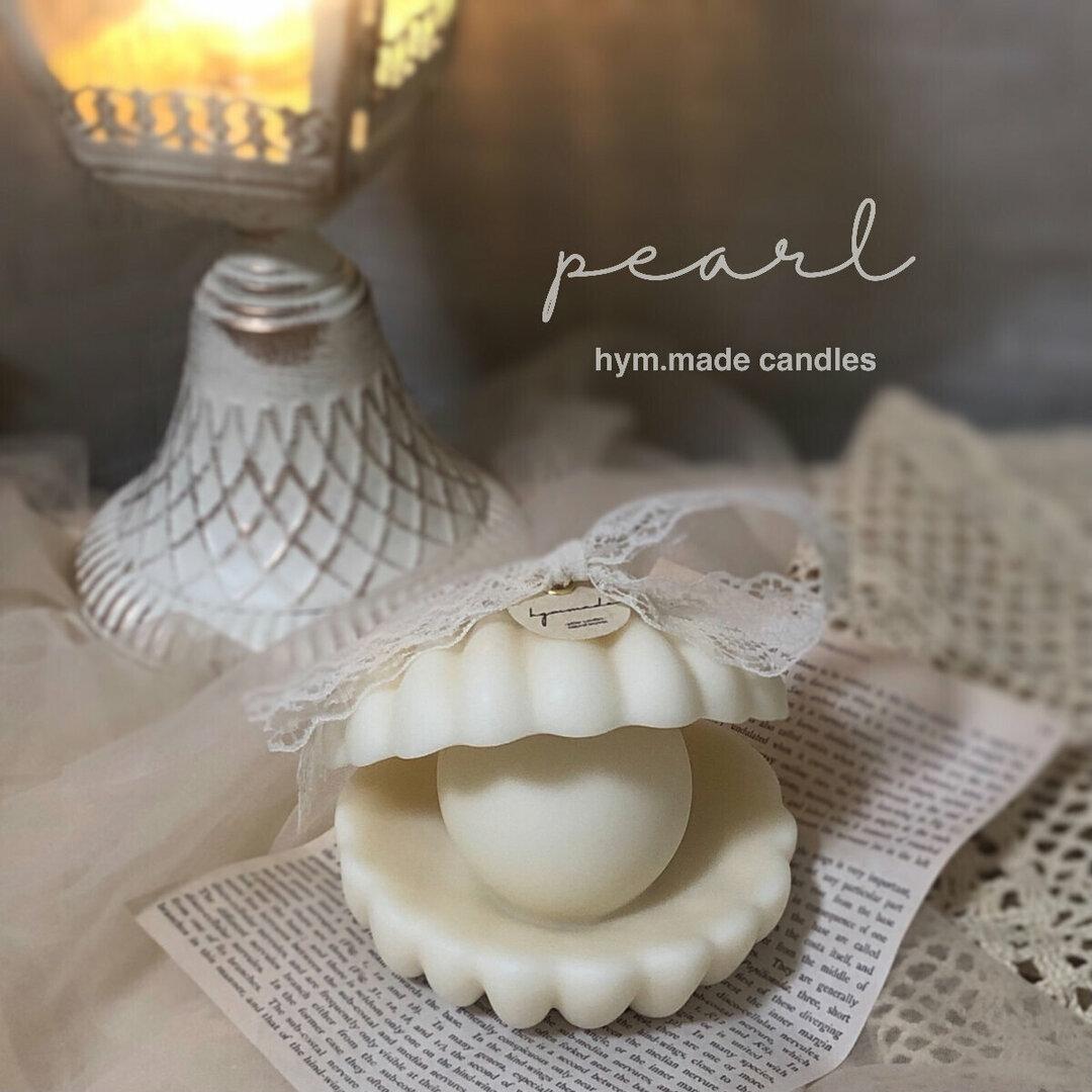 ♥パールキャンドル♥結婚式のウェルカムスペース装飾 エレガント 高見え 高級感 韓国インテリア ロココ 誕生日ギフト
