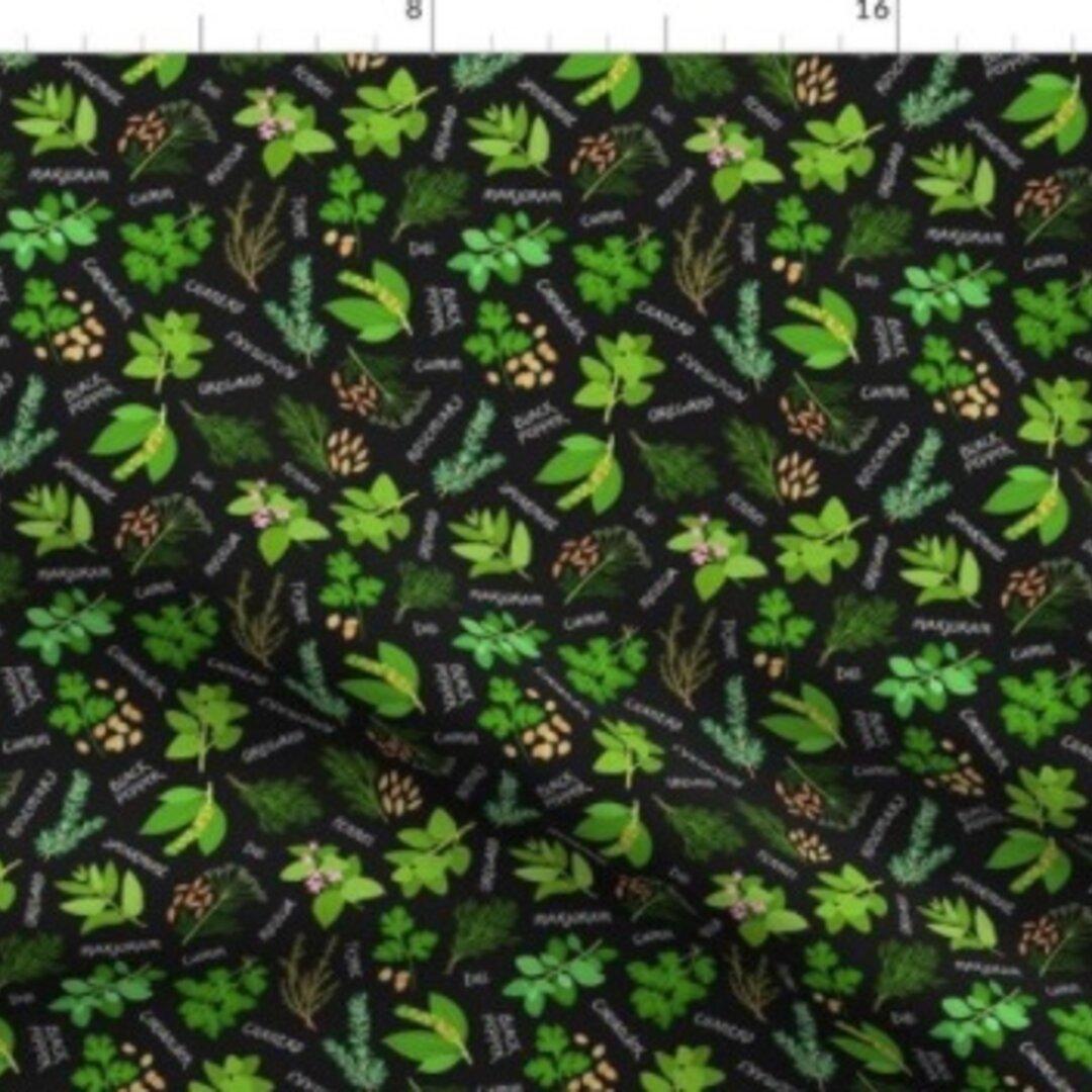 輸入生地 生地 ハーブ ラベンダー ローズマリー ミント タイム 植物 花 草木 園芸 庭 植木鉢 アロマ ハンドメイド素材 緑 自然 風景