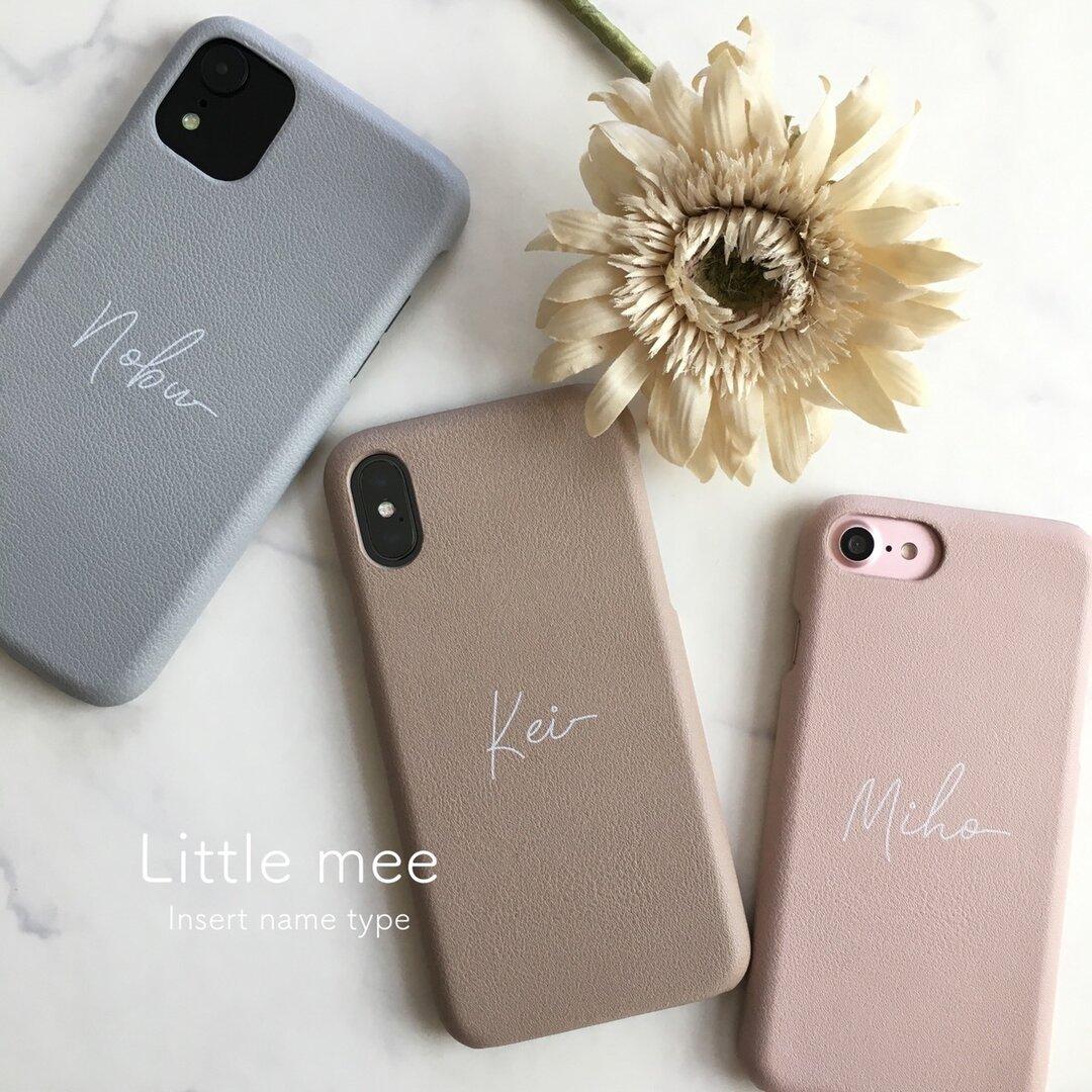 名入れ無料♡ハイクオリティ シンプルレザー調  アイフォン スマホケース  背面カバー iPhone12pro
