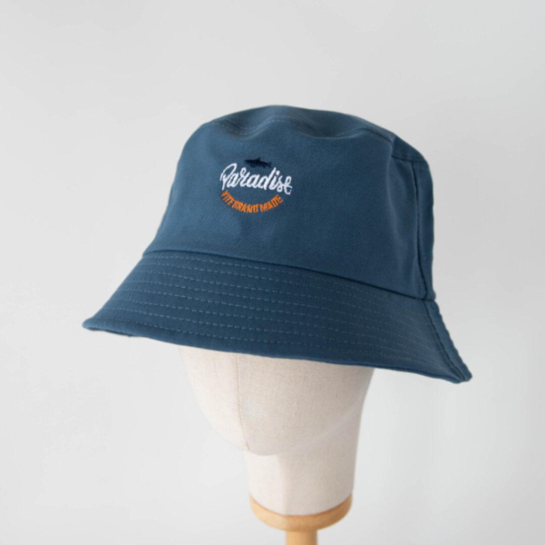 ◇ 全5色 ◇ 夏の日よけ帽 カジュアル 帽子  日差し対策 コットン ユニセックス UVカット ナチュラル  つば広  バケットハット シンプル