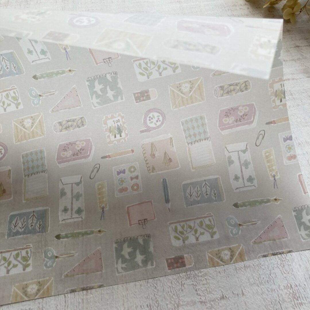 透ける模様紙【stationery】