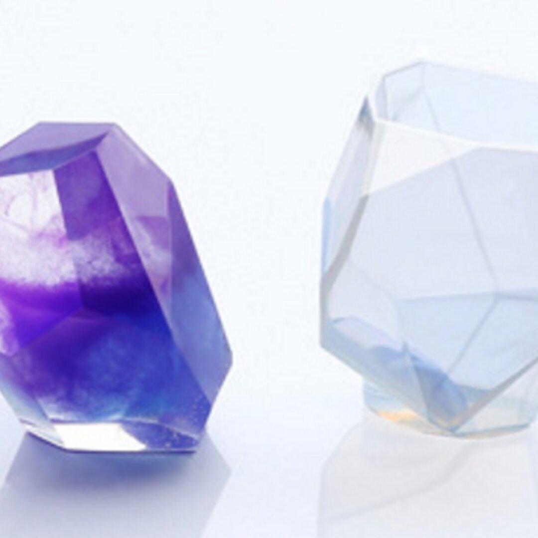 SALE シリコン型 巨大鉱石 (L) 鉱物 宝石 水晶 オルゴナイト パーツ レジン アクセサリー 素材 シリコン型