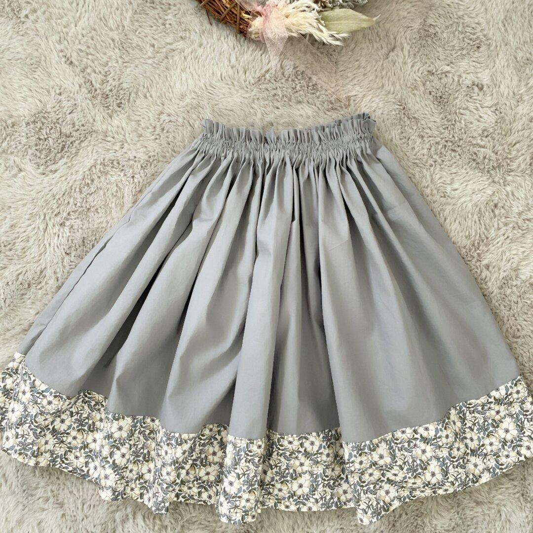 リバティ切り替えスカート