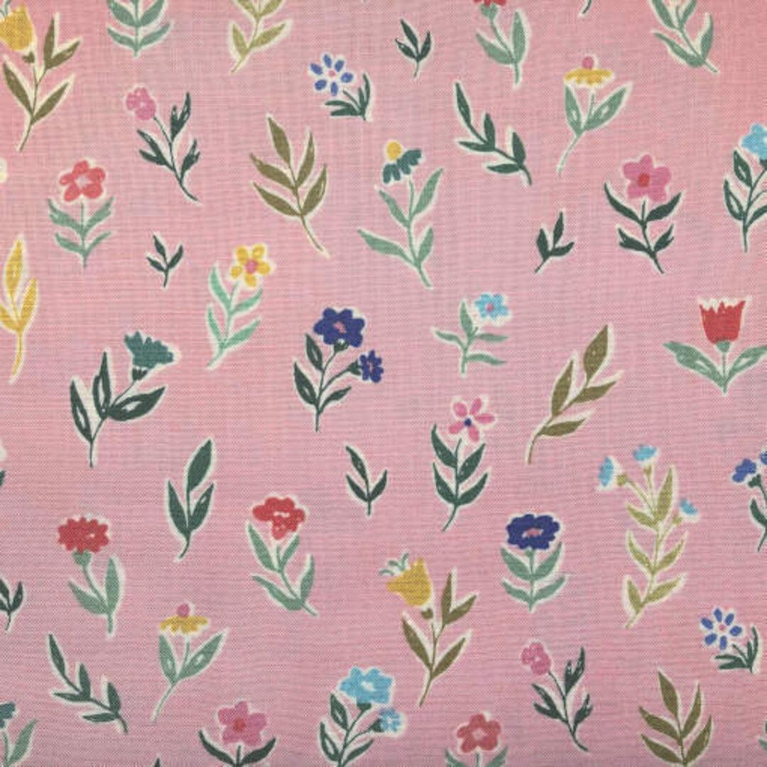 アメリカCloudnine カットクロス PERENNIAL デイジー ピンクフラワー 花