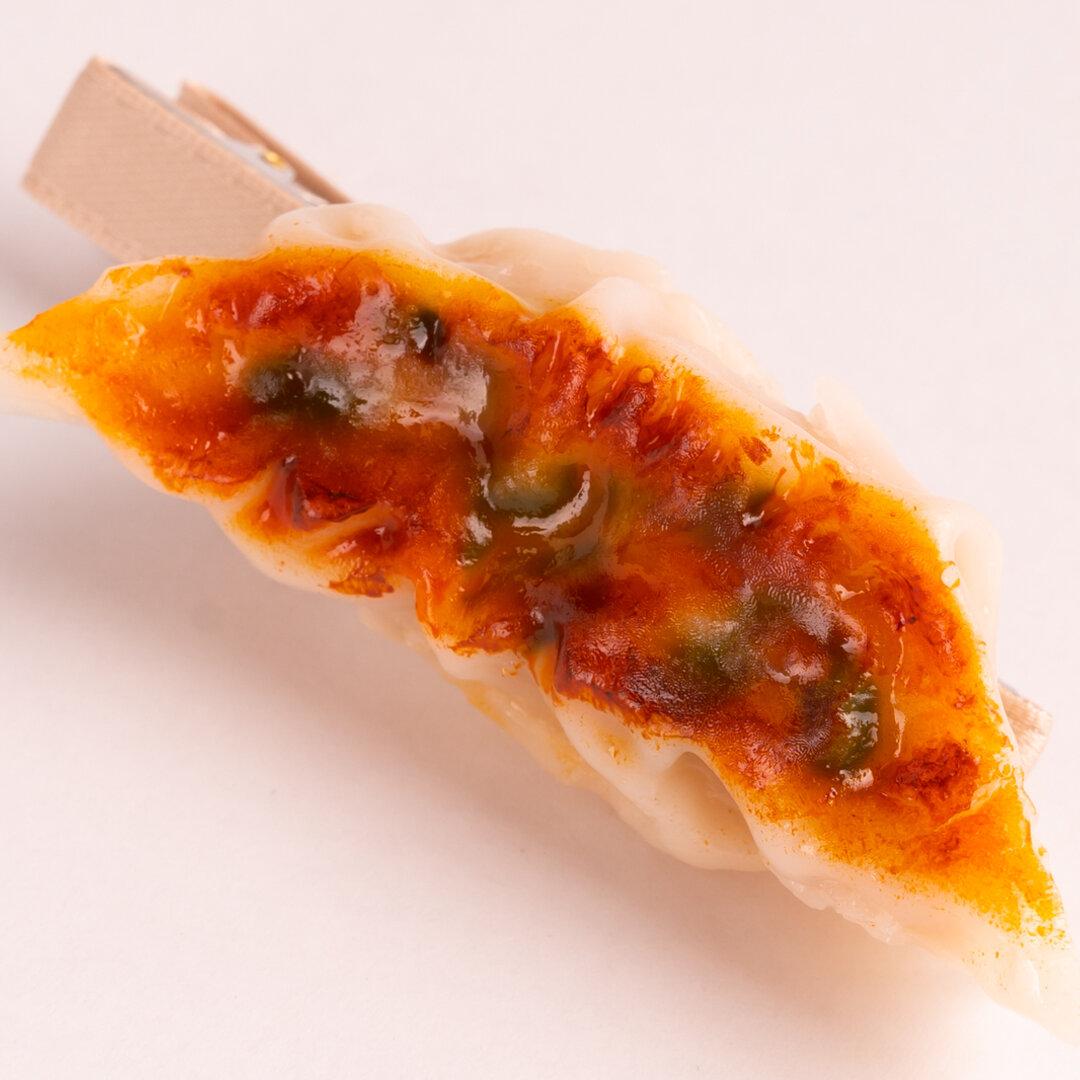 食品サンプル 餃子 ヘアクリップ