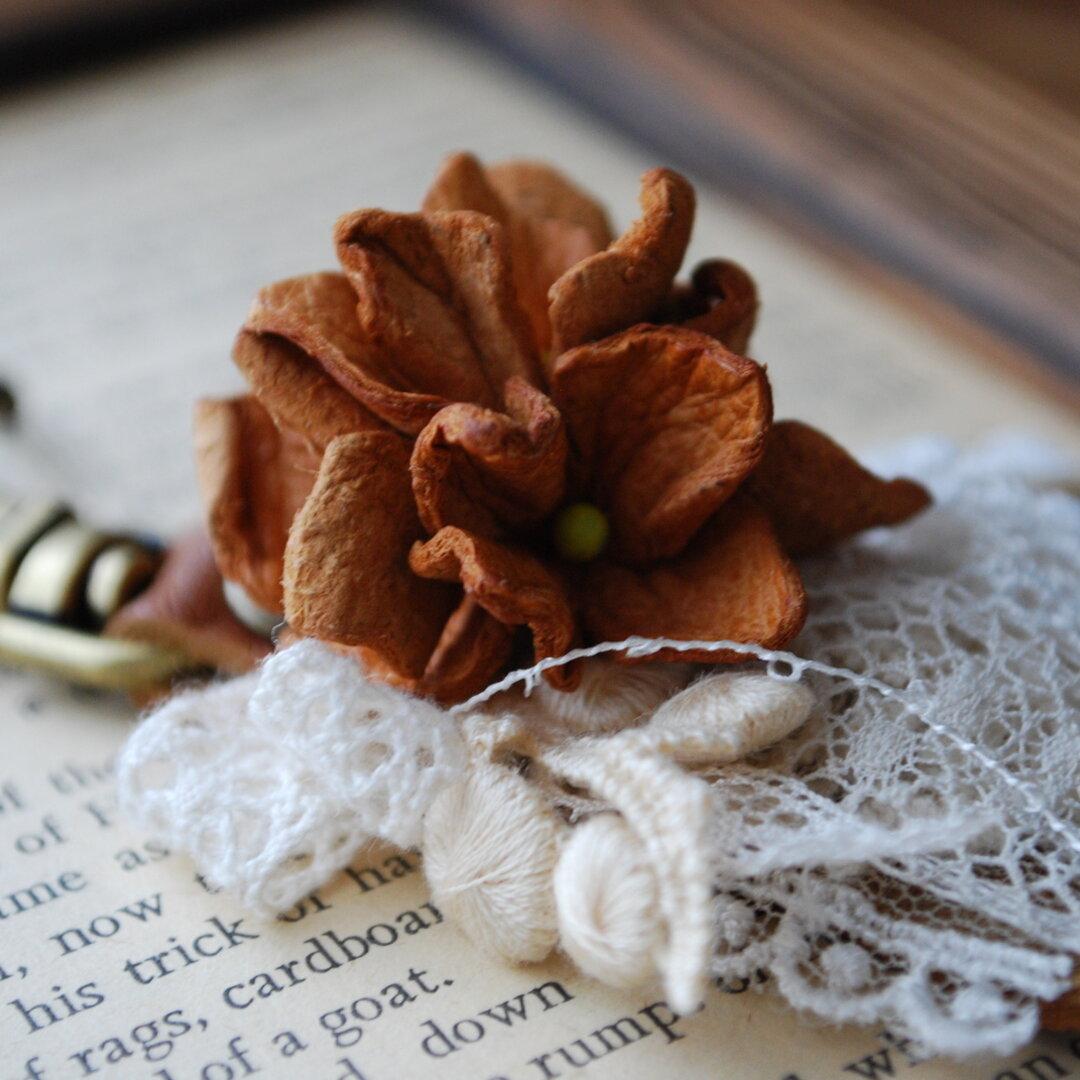 革花のキーホルダー
